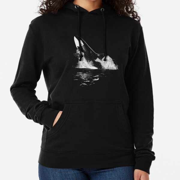 Leaping Orca Lightweight Hoodie