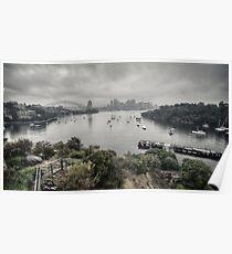 Sydney: one April morning Poster