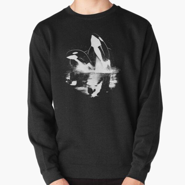 Jumping Orcas Pullover Sweatshirt