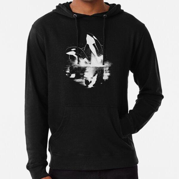 Jumping Orcas Lightweight Hoodie