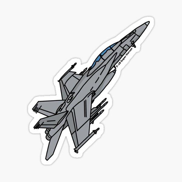 F-18 Super Hornet Sticker