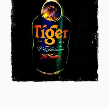 Sagat Street Fighter Tiger by Mason1989