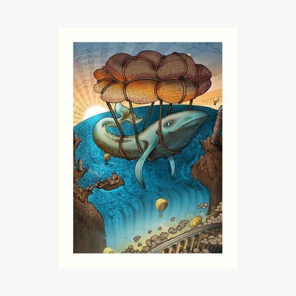 Flight of the Whale Art Print