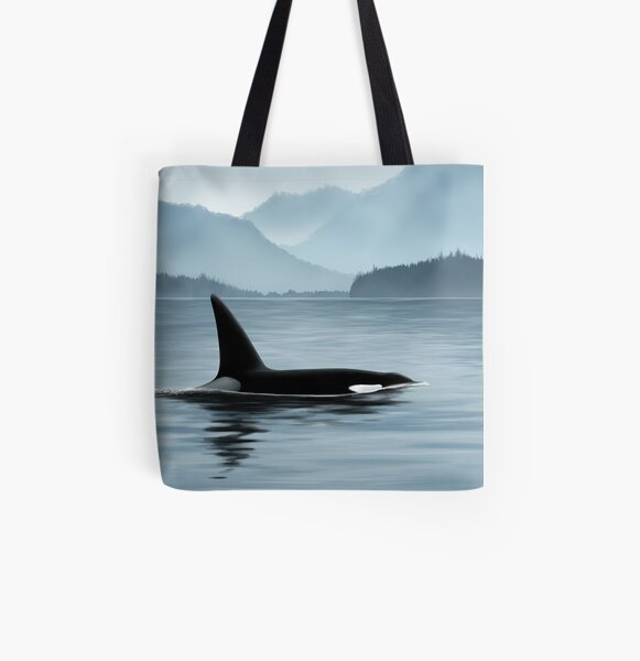 Nootka Sound All Over Print Tote Bag