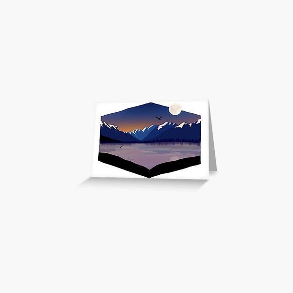 Glacier National Park Lake McDonald Sunset Greeting Card