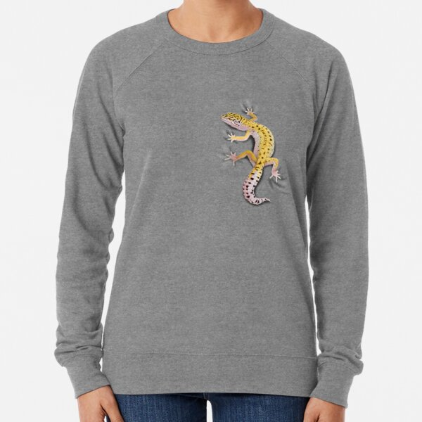 Leopard Gecko Clinger Lightweight Sweatshirt