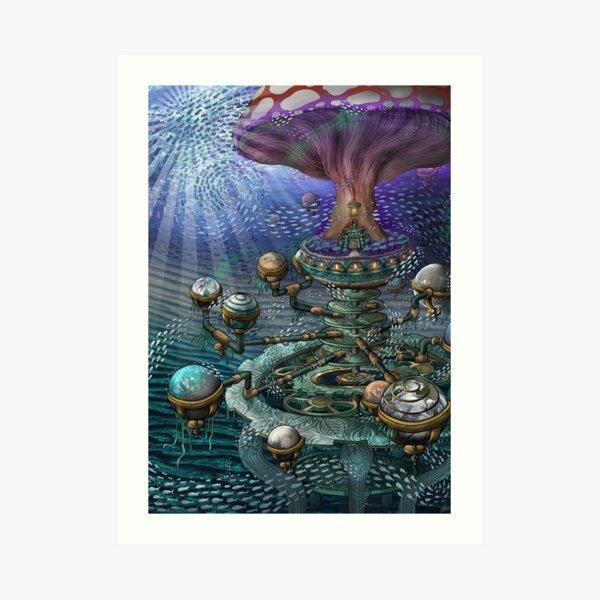 The Planequarium - By DragonsLunch Art Print