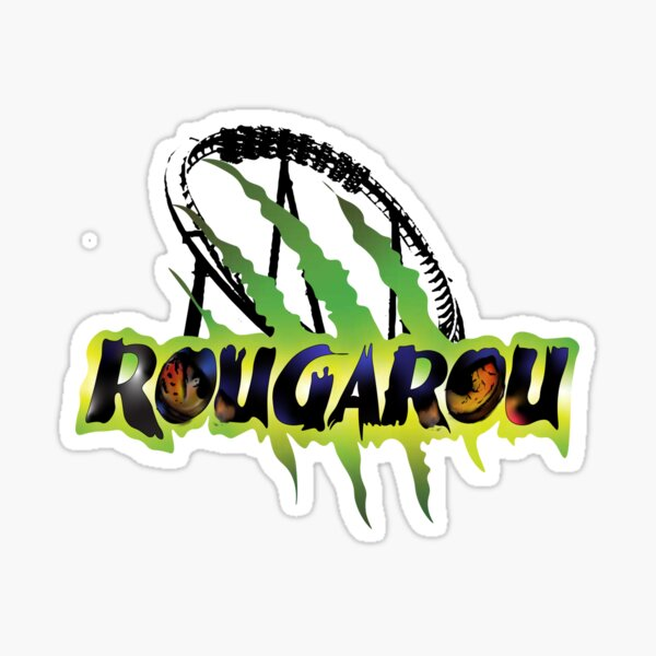 Rougarou Loop Design Sticker