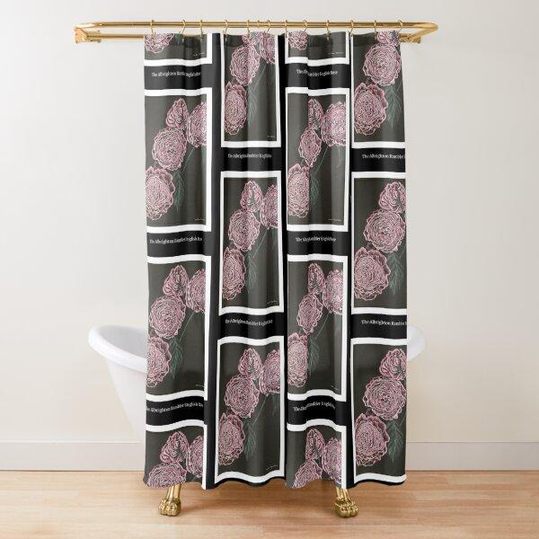 Albrighton Rambler English Rose Shower Curtain