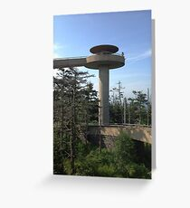 Clingmans Dome Greeting Card