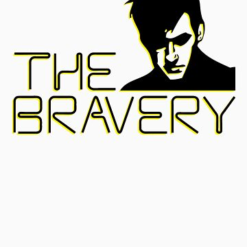 The Bravery Band Tee by d3rr1ck64
