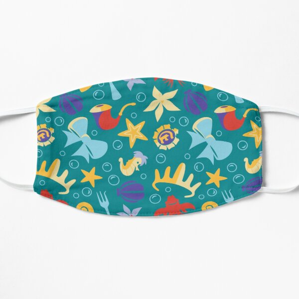Under the Sea Flat Mask