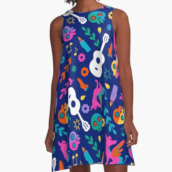 Mi Familia A-Line Dress