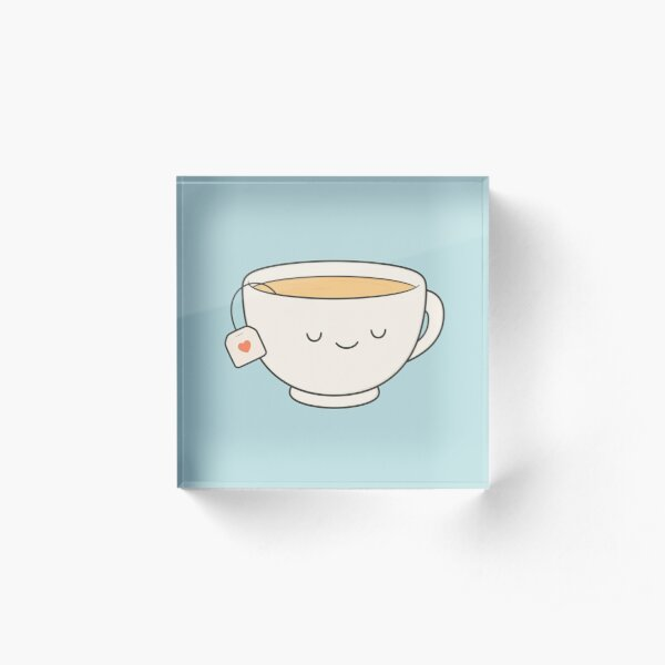Teacup Acrylic Block