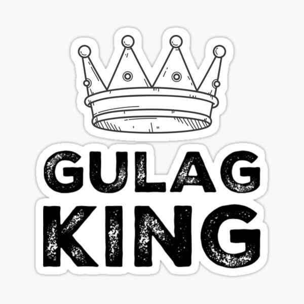 Rey Gulag - Zona de guerra Pegatina