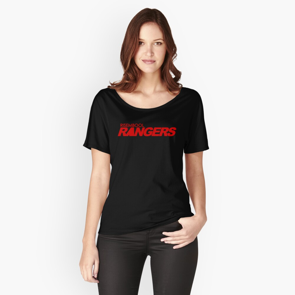 Risembool Rangers Red Logo Relaxed Fit T-Shirt