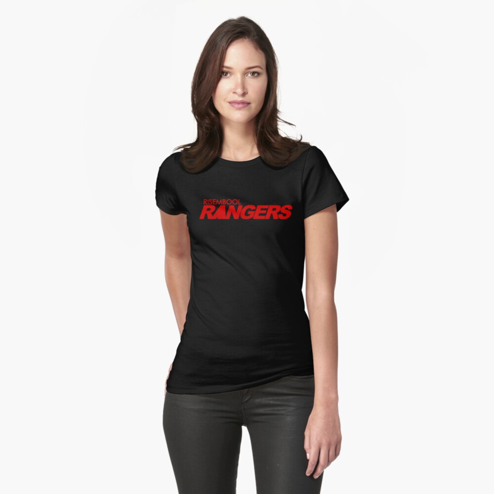 Risembool Rangers Red Logo Fitted T-Shirt