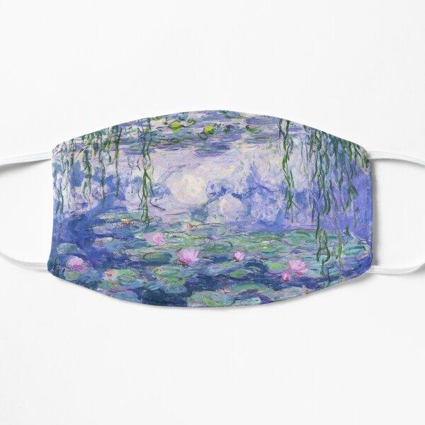 water lillies mask Flat Mask