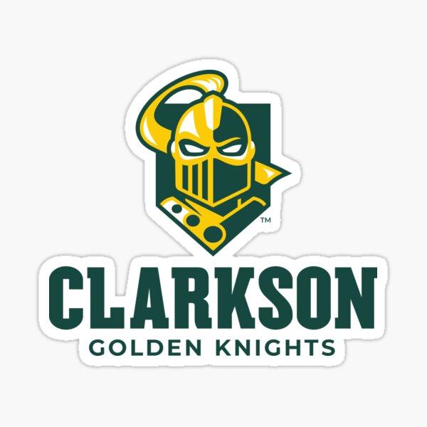 Sticker - 00031A Clarkson University Golden Knights NCAA Vinyl Decal Laptop Water Bottle Car Scrapbook