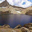 Columbine Lake Panorama by Benjamin Curtis