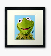 Mr. the Frog Framed Print
