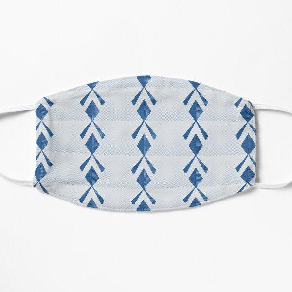 Blue & White Print Mask