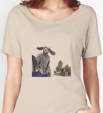My town... Women's Relaxed Fit T-Shirt