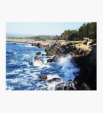 Fort Bragg Coast Line Photographic Print