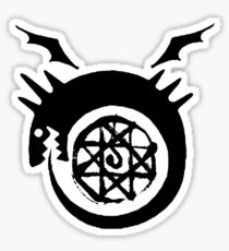 Bloodseal In The Ouroboros! Sticker