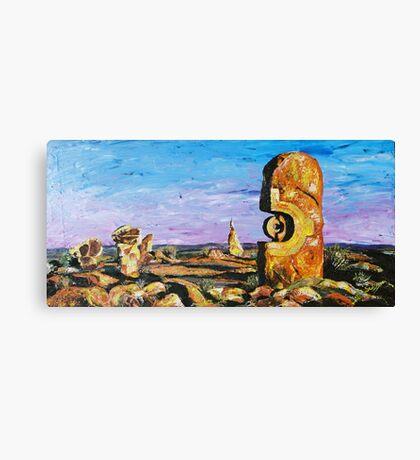 Sculptures - Pallet Knife Canvas Print
