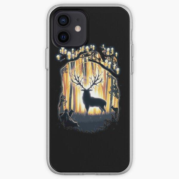 Deer God Master of the Forest iPhone Soft Case