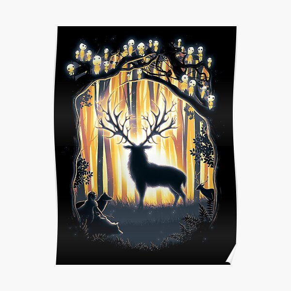 Deer Posters Redbubble