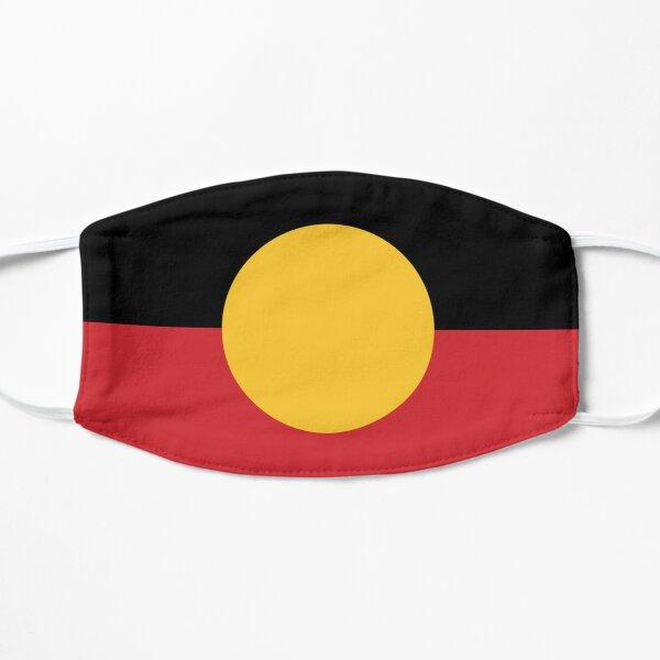Aboriginal Flag #3 Flat Mask