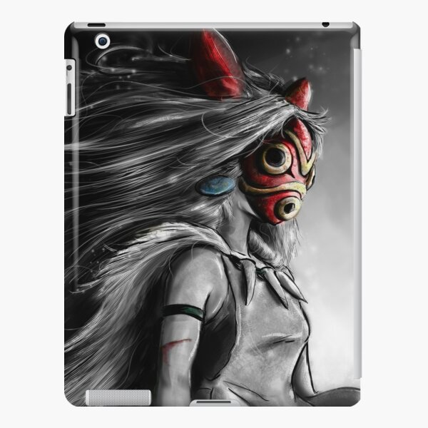 Fury of the Princess Anime Digital Painting iPad Snap Case