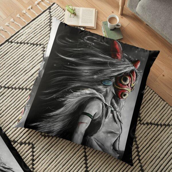 Fury of the Princess Anime Digital Painting Floor Pillow