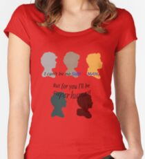 Save Ya Tonight Women's Fitted Scoop T-Shirt