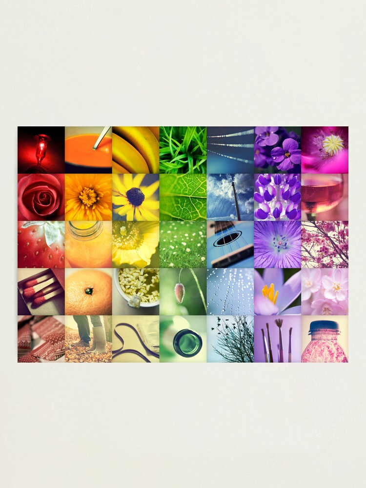 Alternate view of A Year of Colour Photographic Print