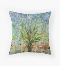 Tree of Life - finished Throw Pillow