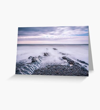 Peace ~ Welcombe Mouth, Devon, UK Greeting Card