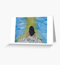 """Calling Of The Bride""  by Carter L. Shepard Greeting Card"