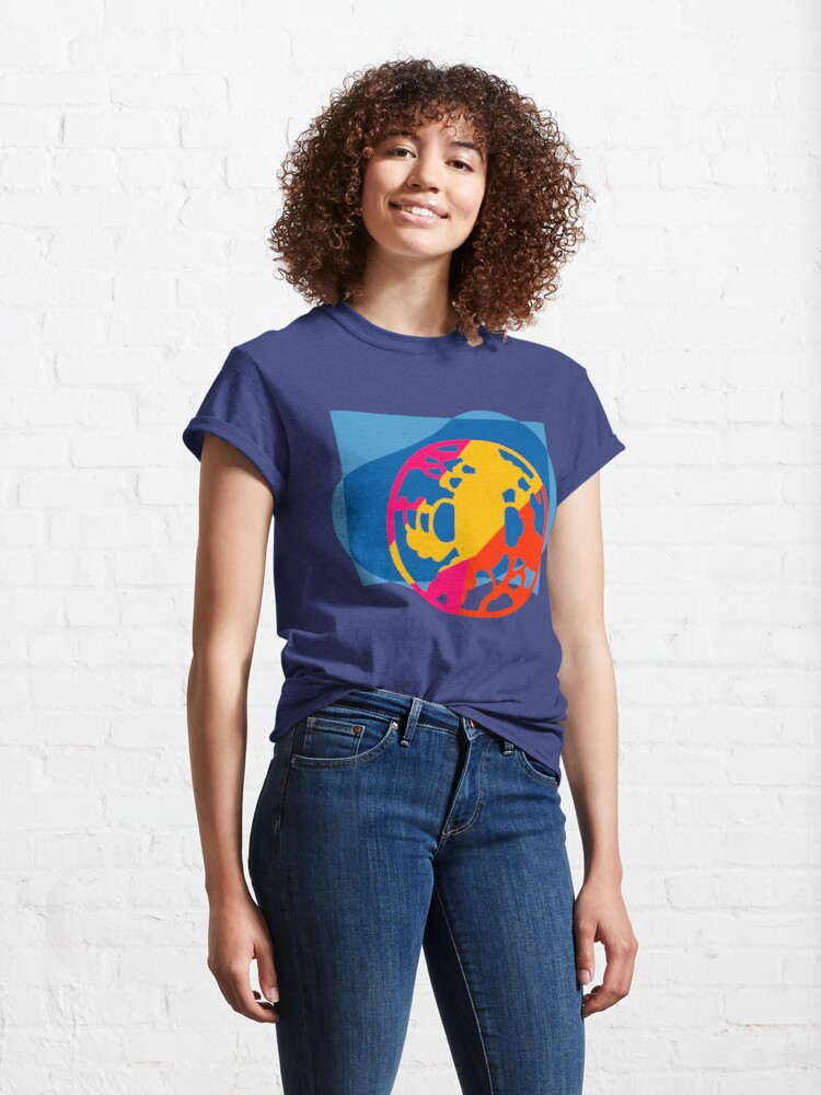 Alternate view of  Colorful Abstract Geometric Art Classic T-Shirt