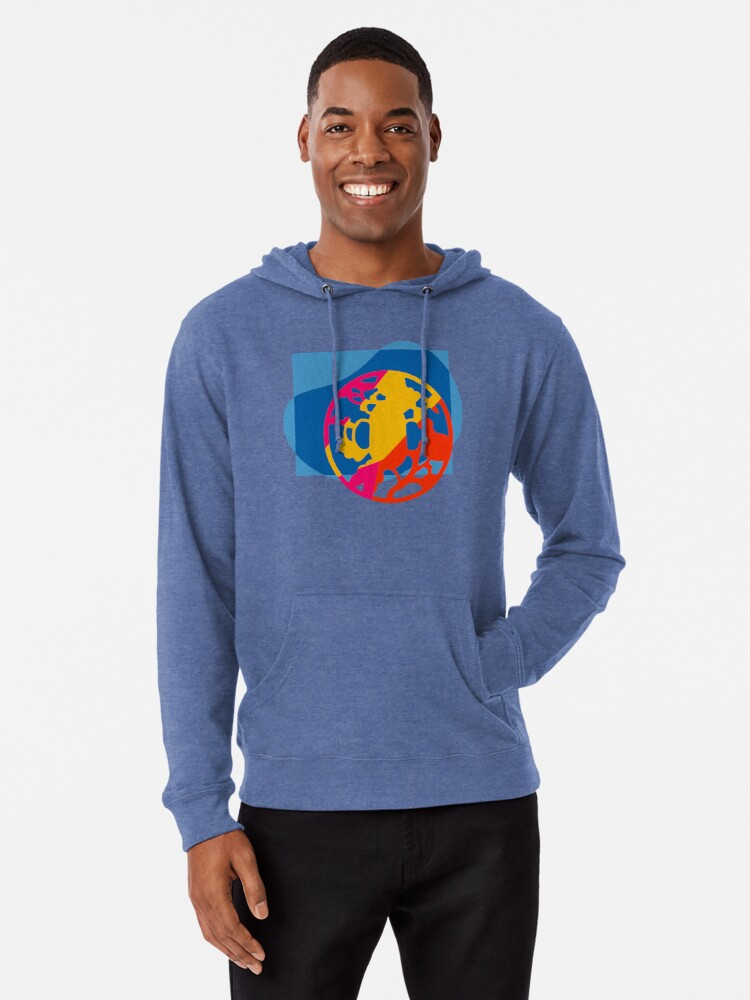Alternate view of  Colorful Abstract Geometric Art Lightweight Hoodie
