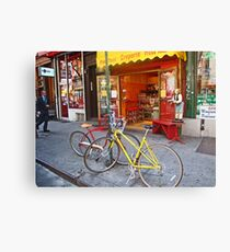 Greenwich Village bikes  Canvas Print