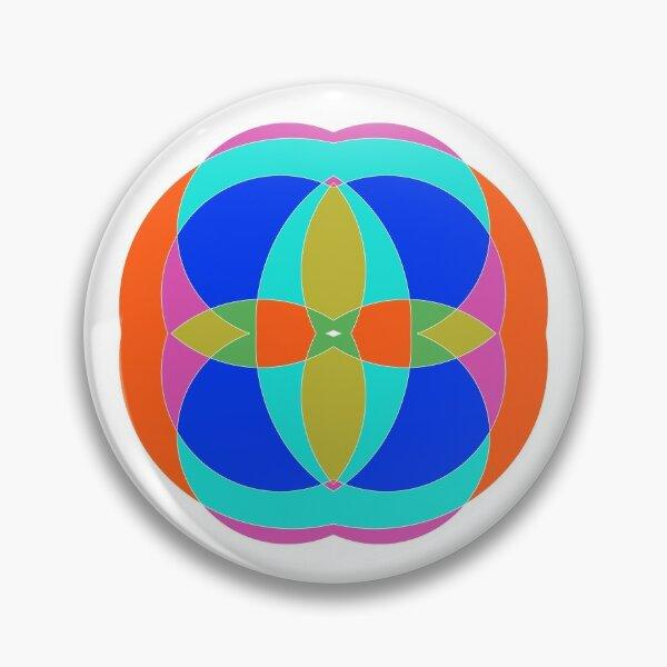 Circle, 2D shape Pin