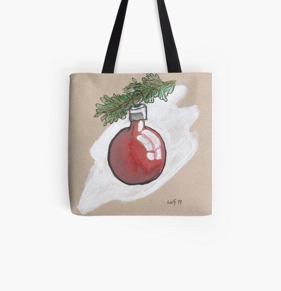 Inktober 2019 #17: Ornament All Over Print Tote Bag
