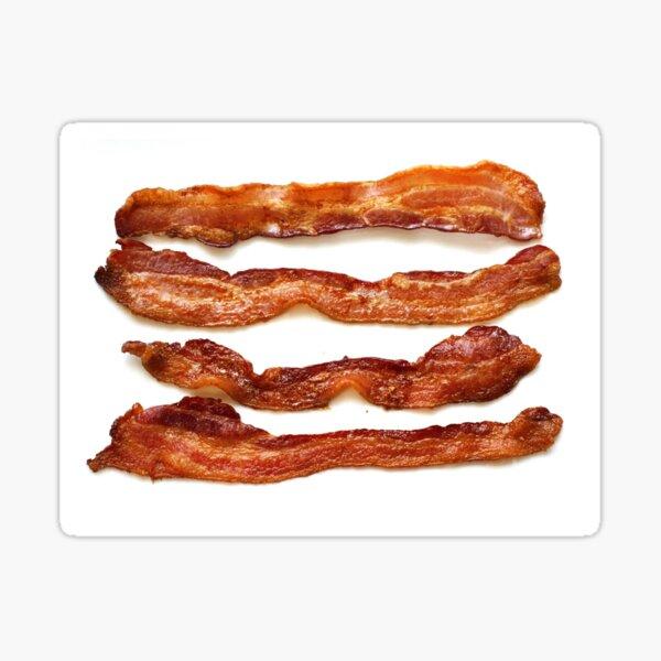 Bacon, Bacon socks, Bacon greeting card, Bacon mug, Bacon pillow, Bacon mask  Sticker
