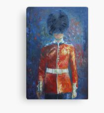 The Queen's Guard Canvas Print