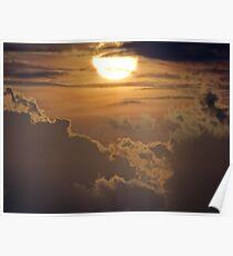 Dramatic Sunset Sequences III - Sequencias de una dramatica Puesta del Sol Poster