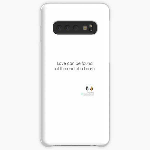 Love can be found at the end of a leash Samsung Galaxy Snap Case