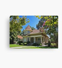College Town Residence Canvas Print